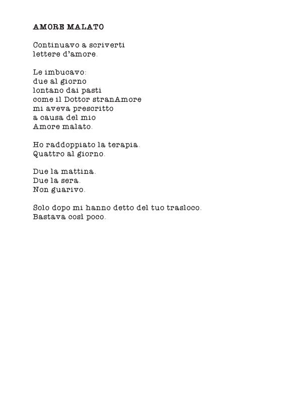 Favorito Poesie - Tutti giù parterre DH77