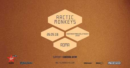 Arctic Monkeys a Roma