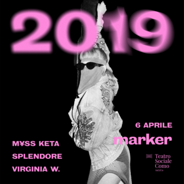TORNA MARKER 2019 con i protagonisti Myss Keta, Splendore e Virginia W.