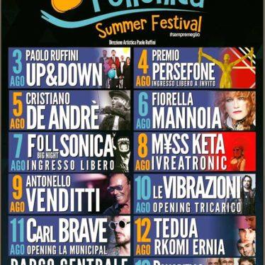 Il Follonica Summer Festival accenderà le notti d'estate dal 3 al 13 agosto